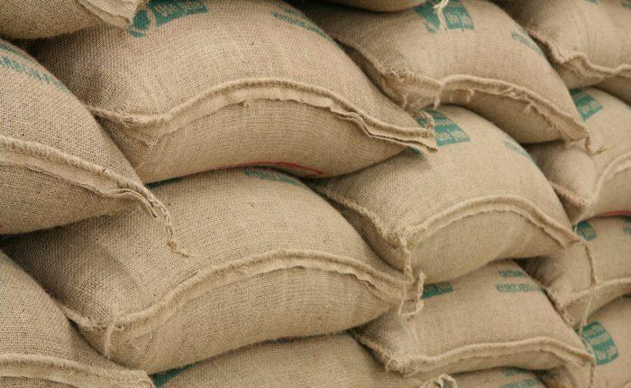 Kaffeesäcke, Rohkaffee